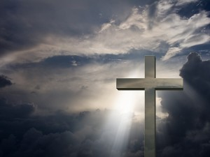 bigstock-Mettalic-Cross-and-sky-16038023