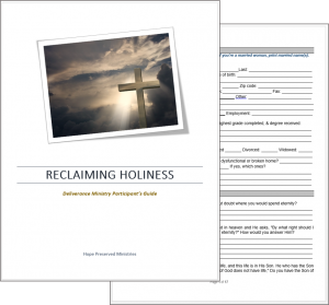 Deliverance Participant's Guide